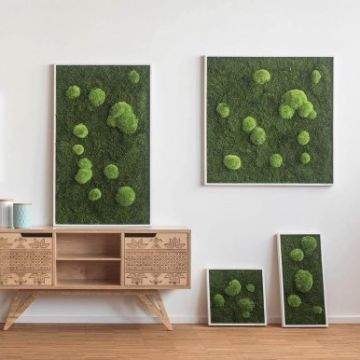 Forest And Pole Moss Fringe 55 x 55 Cm