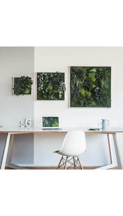 Plant Island Fringe 80 x 80 Cms
