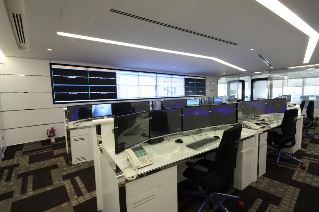 Telecommunications Control Room